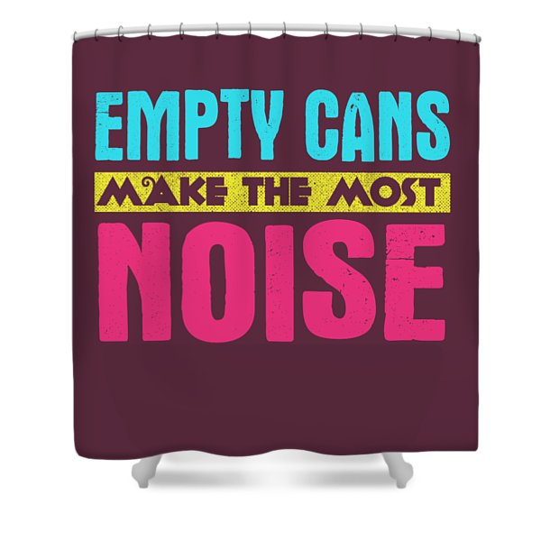Empty Cans Shower Curtain