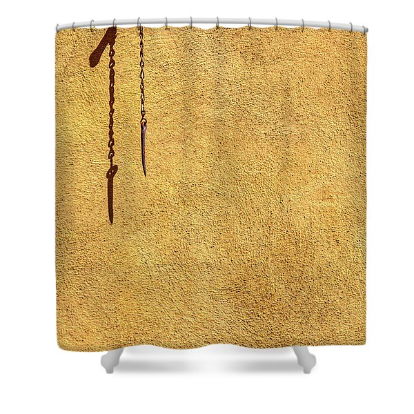 Empty Space  Shower Curtain