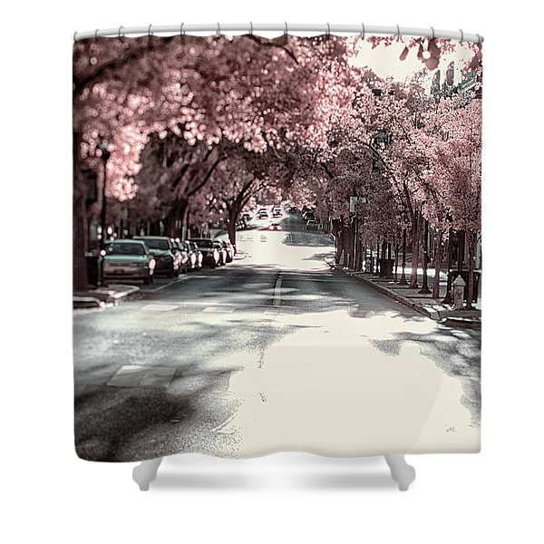 Empty Street Shower Curtain