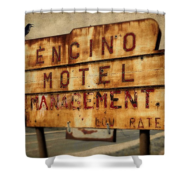 Encino Hotel Shower Curtain