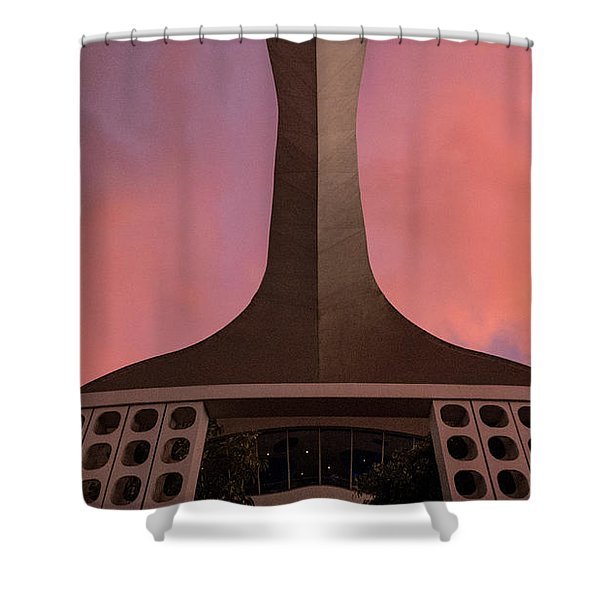 Encounter Abstract Shower Curtain