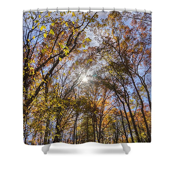 End Of Summer Shower Curtain