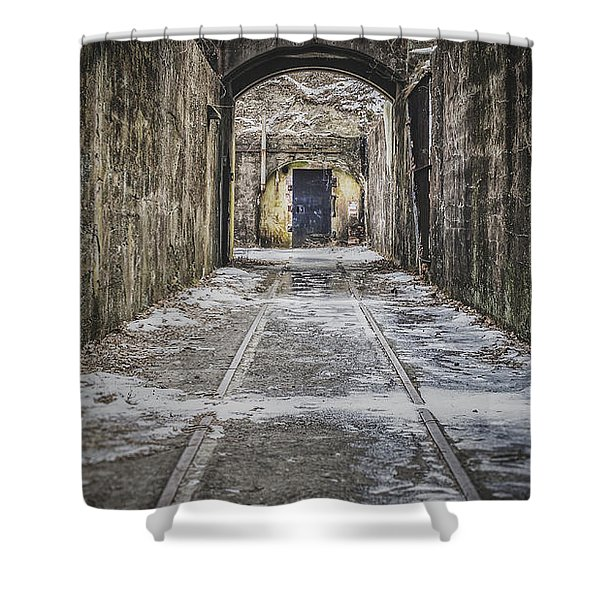 End Of The Tracks Shower Curtain