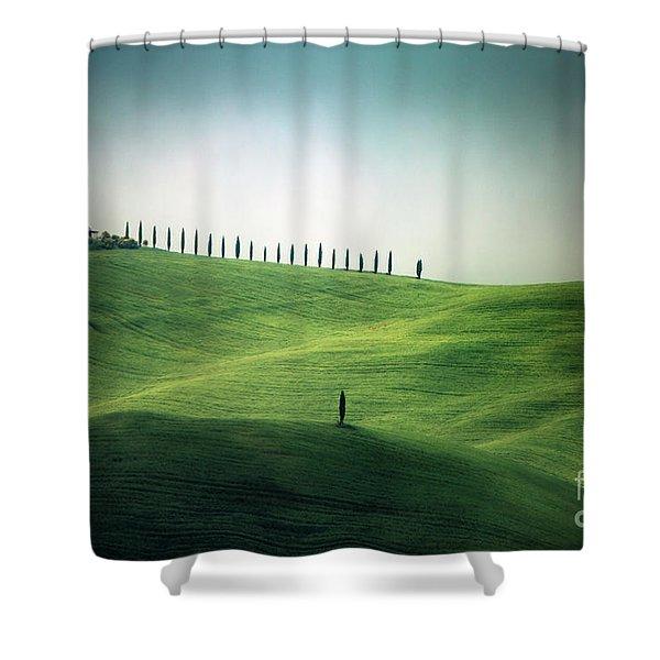 Endless Hills Shower Curtain
