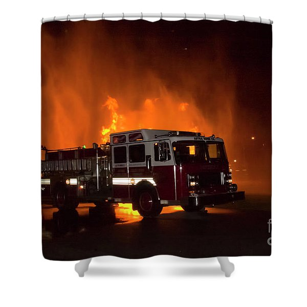 Engine 2 Shower Curtain