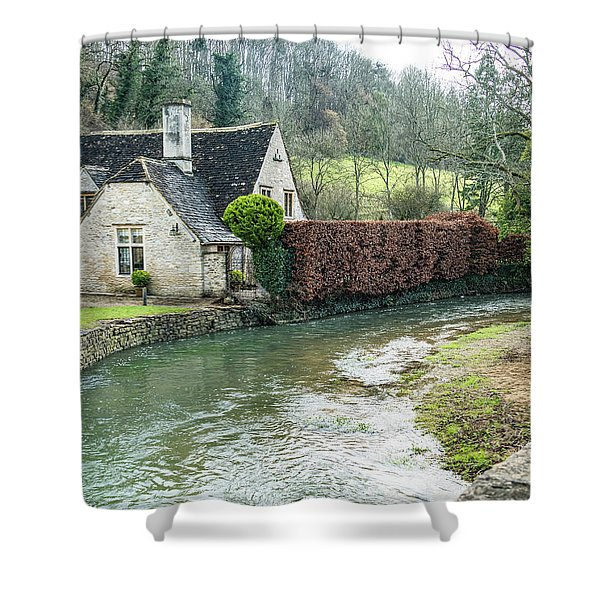 English Creek Shower Curtain