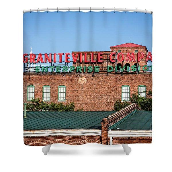 Enterprise Mill - Graniteville Company - Augusta Ga 2 Shower Curtain