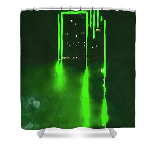 Entropy Shower Curtain