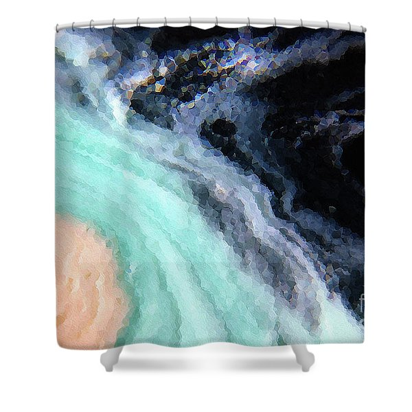 Ephesians 2 10. We Are His Workmanship Shower Curtain