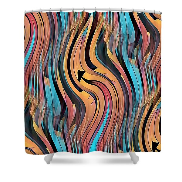 Eternal Shower Curtain