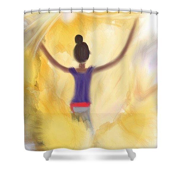 Eternal Presence Shower Curtain