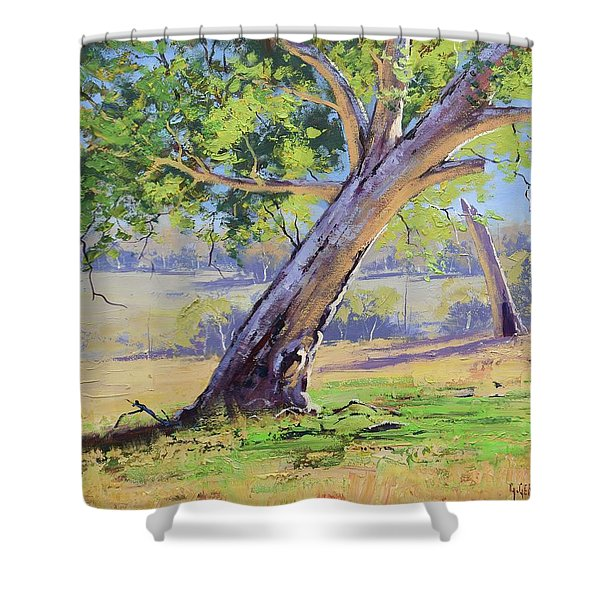 Eucalyptus Tree Australia Shower Curtain