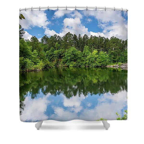 Euchee Creek Park - Grovetown Trails Near Augusta Ga 1 Shower Curtain