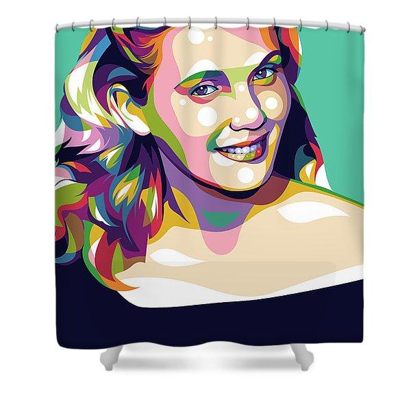 Eva Marie Saint Shower Curtain