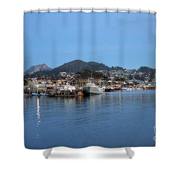 Evening In Morro Bay Shower Curtain