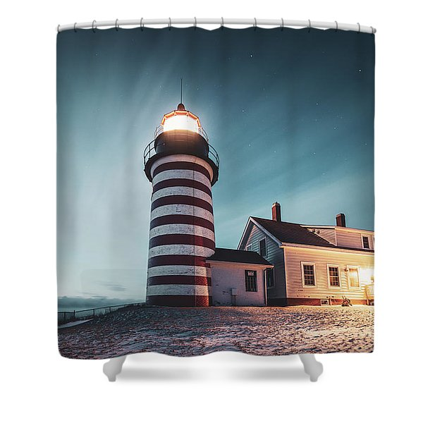 Everlight Shower Curtain