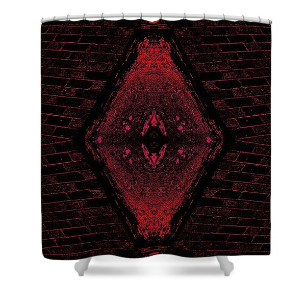Eye Of Time Shower Curtain
