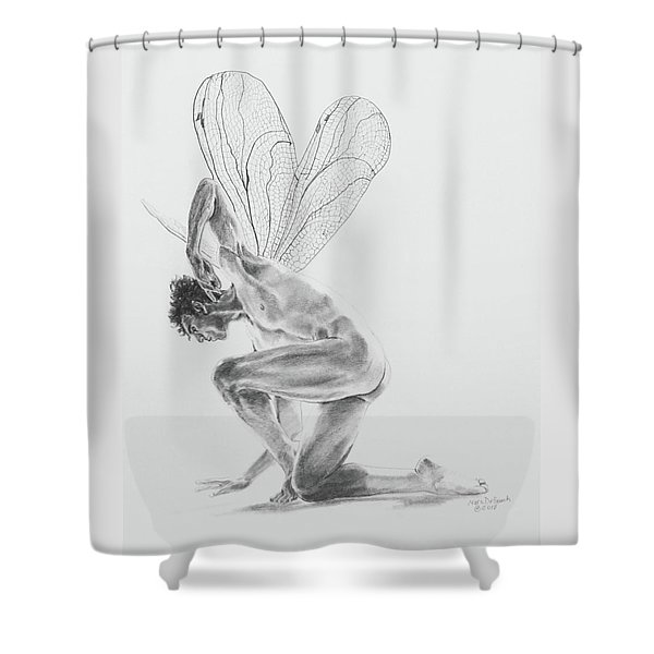Fairy Dancer Shower Curtain