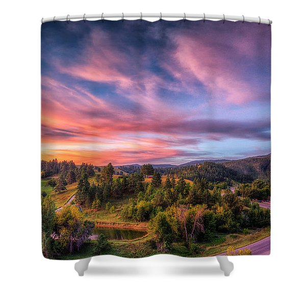 Fairytale Morning Shower Curtain