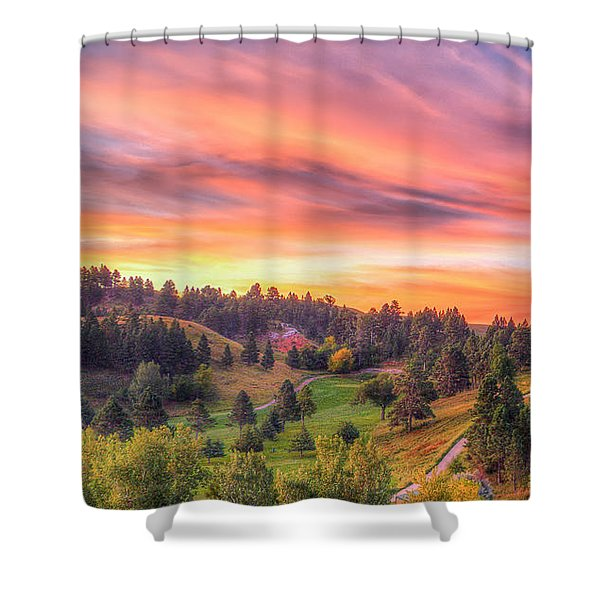 Fairytale Triptych 1 Shower Curtain