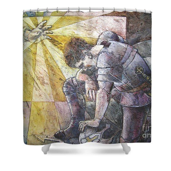 Faithful Servant Shower Curtain
