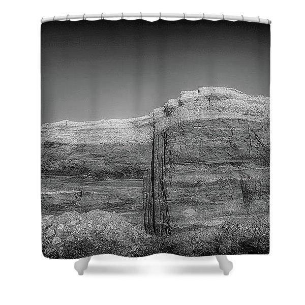 Faking Rancho De Taos Shower Curtain
