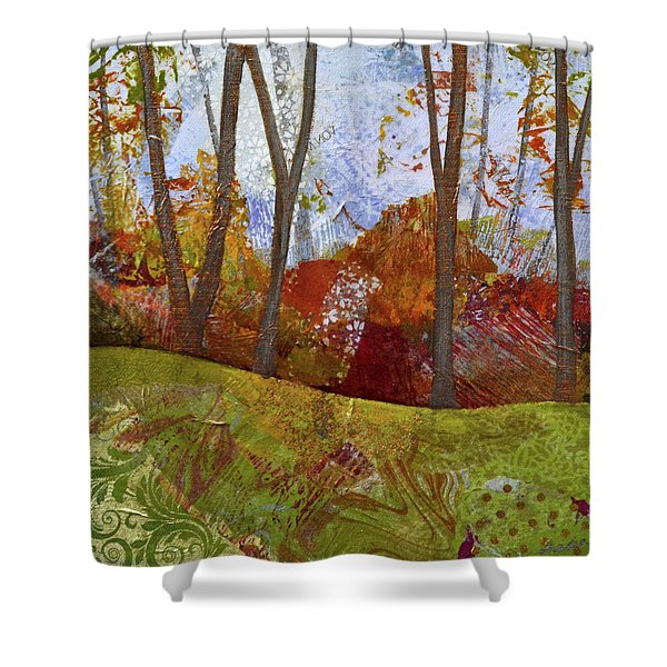Fall Colors I Shower Curtain