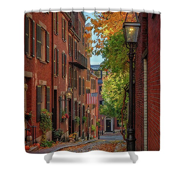 Fall In Beacon Hill Shower Curtain