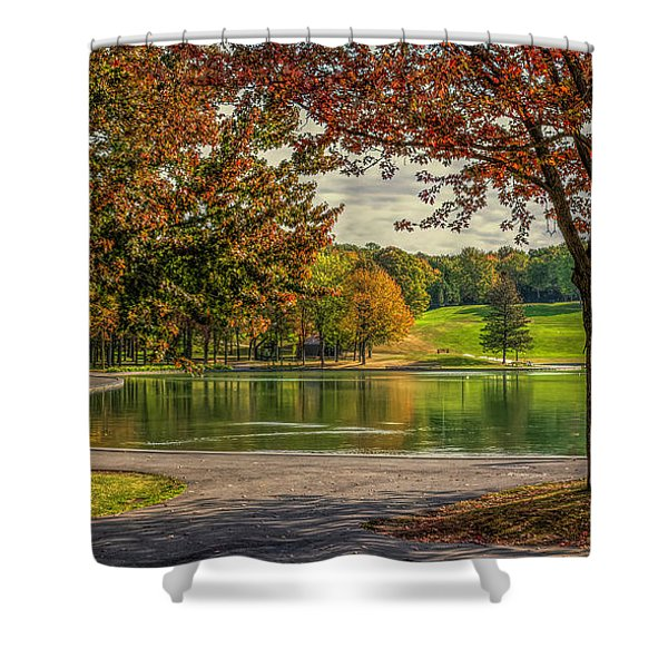 Fall In Montreal Shower Curtain