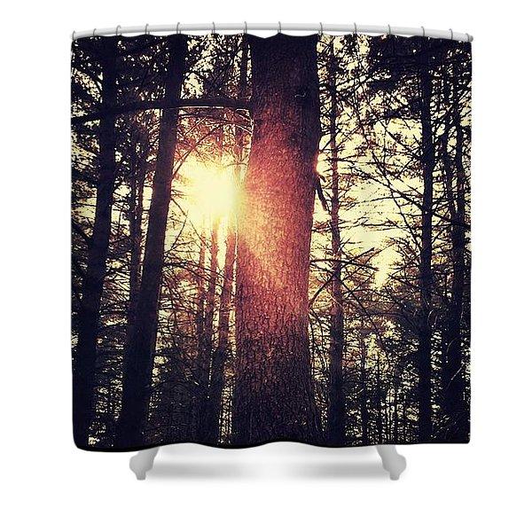 Fall Of Light Shower Curtain