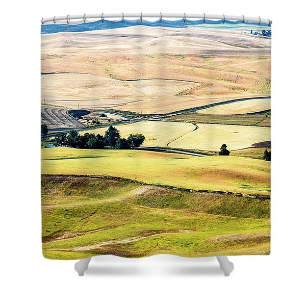 Farming The Palouse Shower Curtain