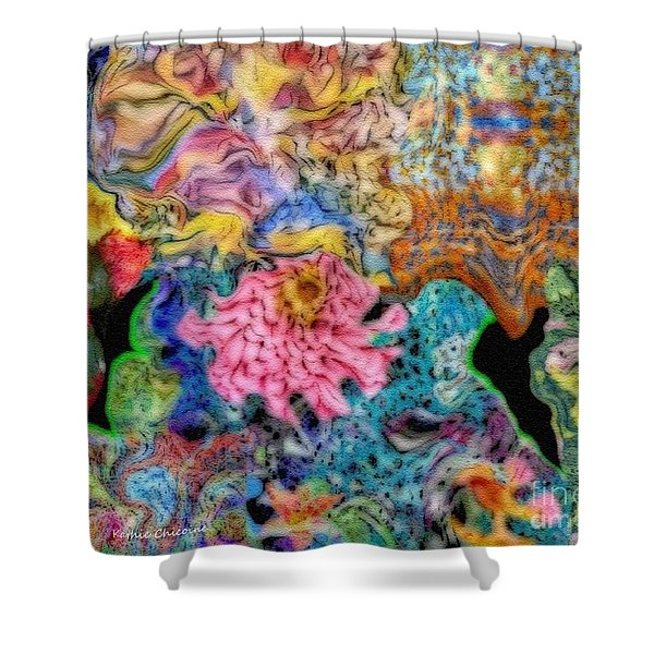 Fascinating Color Shower Curtain
