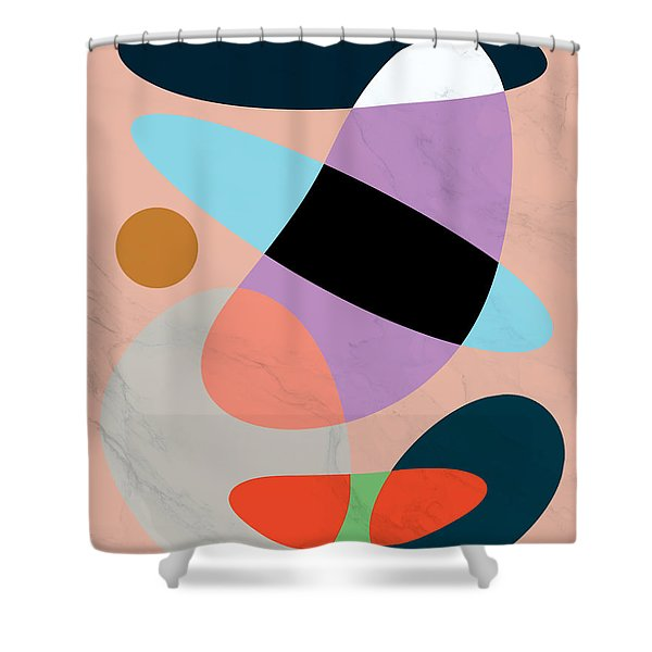 Fashion Colors Shower Curtain