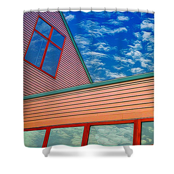 Fdr Museum Shower Curtain