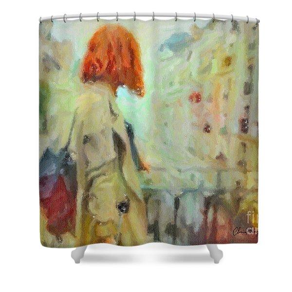Feel The Rain Shower Curtain