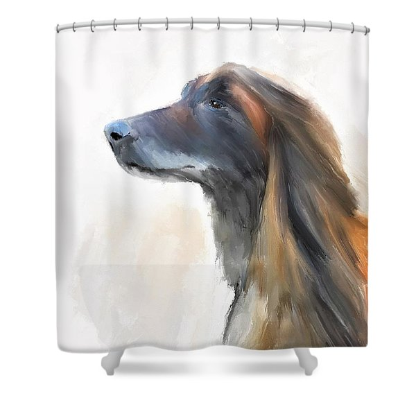 Feeling The Breeze Shower Curtain