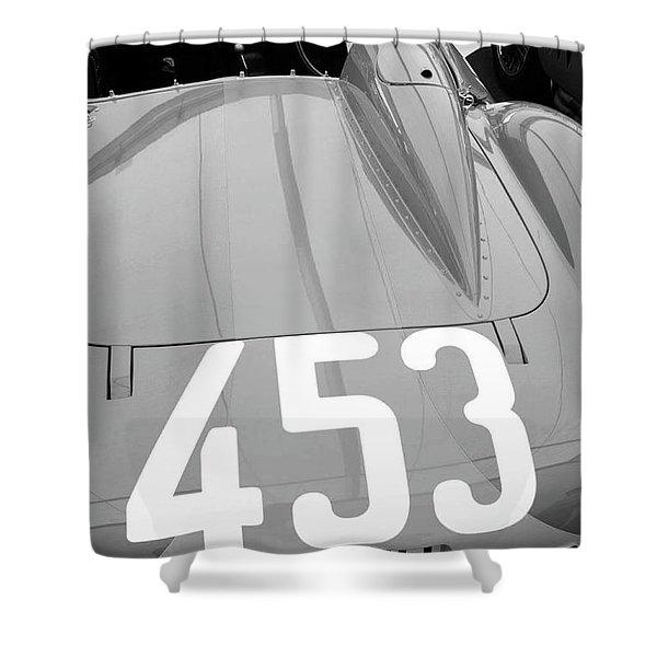 Ferrari Rear End Shower Curtain