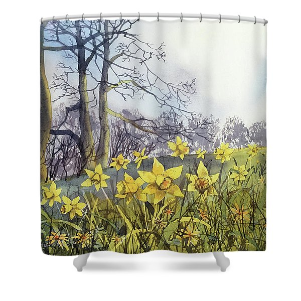 Field Of Hope At Burton Agnes Shower Curtain