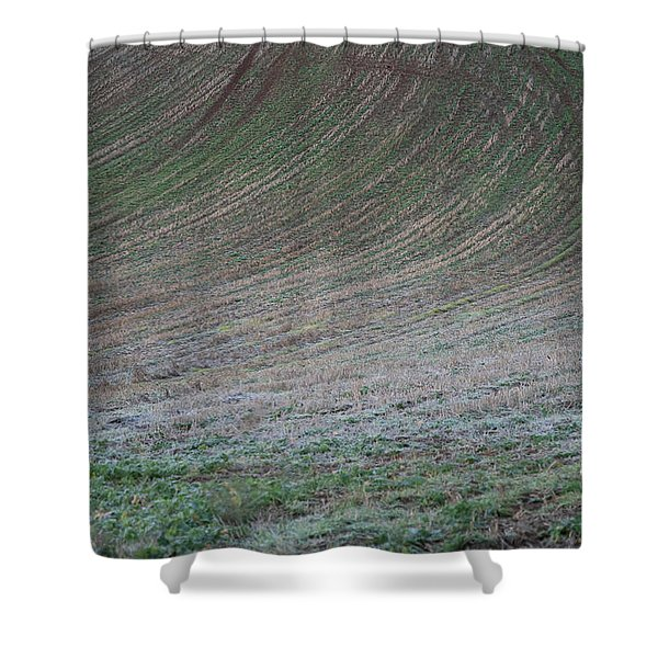 Field Patterns Shower Curtain