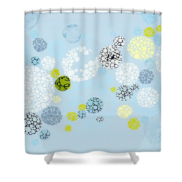 Fill In The Blanks Shower Curtain