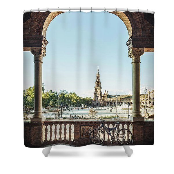 Filled With Light Shower Curtain