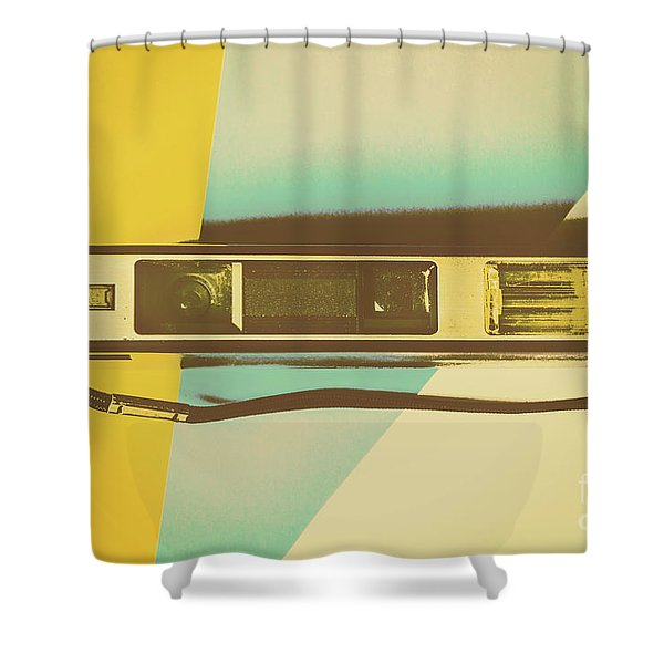 Film Fades Shower Curtain