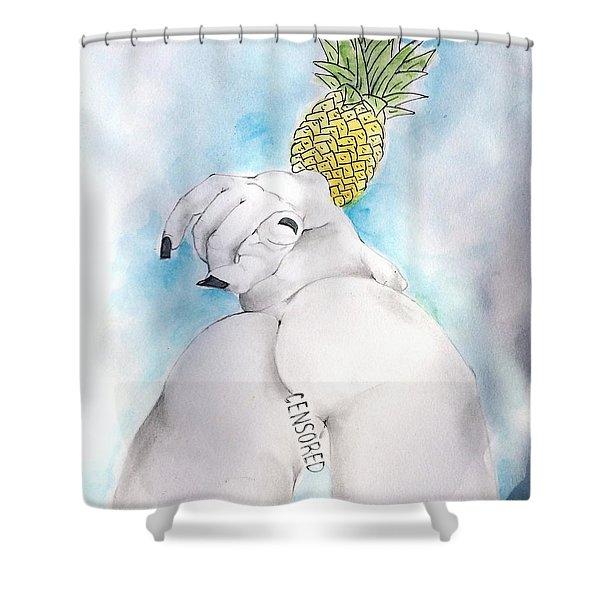 Fineapple Shower Curtain