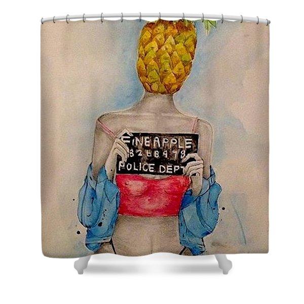 Fineapple Og  Shower Curtain