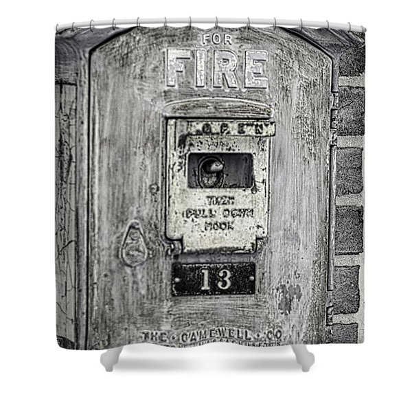 Firebox Shower Curtain