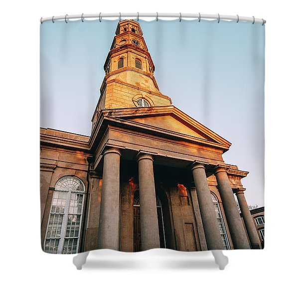 Firm Foundation Shower Curtain