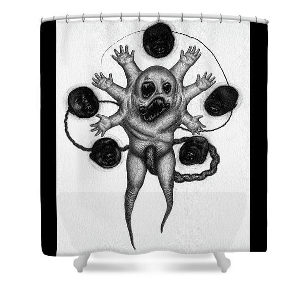 Firstborn Of The Nursery Wing - Artwork Shower Curtain