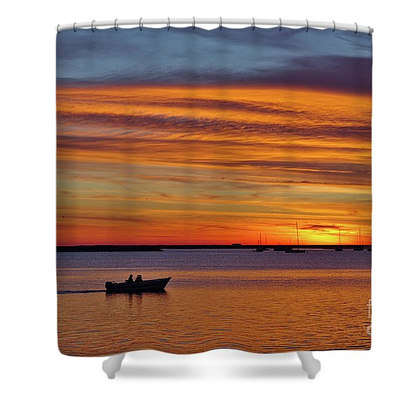 Fisherman's Return Shower Curtain