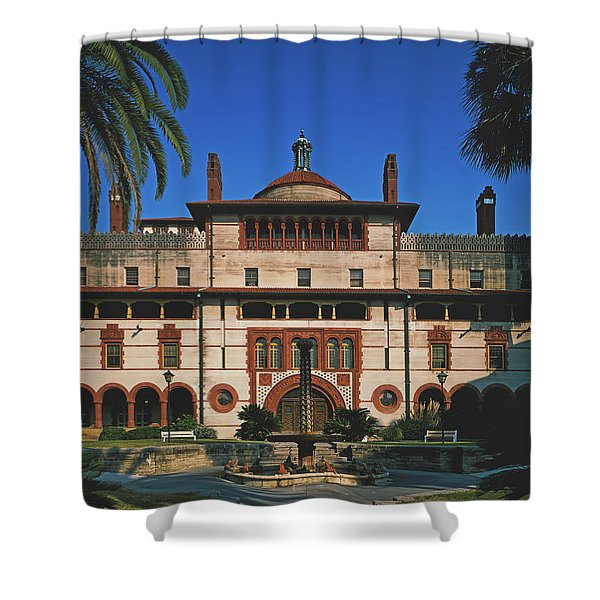 Flagler College - St Augustine, Florida Shower Curtain