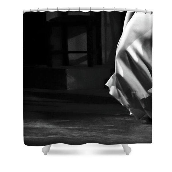 Shower Curtain featuring the photograph Flamenco 40 by Catherine Sobredo